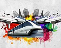 Concurso Cultural Tá Pintando um Novo Metrô