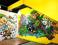 Tat Nasi Ayam Graffiti Mural