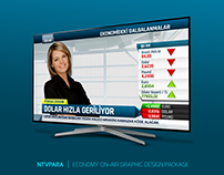 NTVPARA | ECONOMY ON-AIR GRAPHIC DESIGN PACKAGE