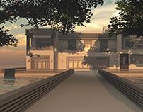 3D Villa - Exterior Modeling