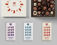 No Whey Chocolate Rebrand Concept