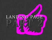 Landing Pages Part 2