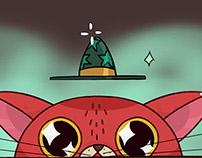 Wizard Cat Gif