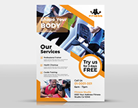 Corporate Flyer - Fitness Club