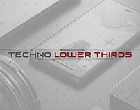 Techno Digital Lower Thirds
