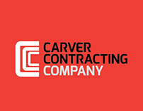 Brand Identity Design :Carver Contracting Company