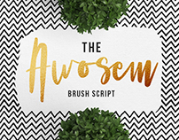 Awosem - Typography Quote