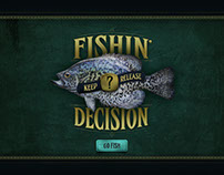 Nat Geo Society: Fishin' Decision Touchscreen Game
