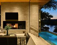 A Vintage Lake Austin Home by LaRue Architects