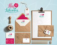 Lilia Lukonina event designer / Brand identity