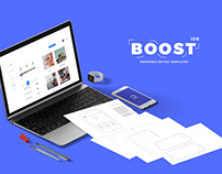 Boost - Printable Device Templates (iOS)