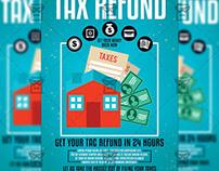 Tax Refund Season Flyer - Business A5 Template