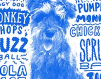 Dog nickname portraits