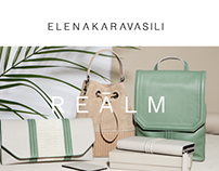 Elena Karavasili e-shop look and feel