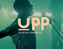 Branding Utrecht Pop Award