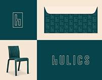 Hulics - Logo & brand identity design