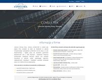 consultrix.pl Web design
