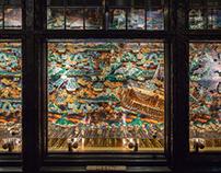 Artwork for Liberty London Window Display