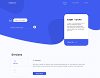 /A1 Cyber Security Website UI Design