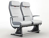 Jazz Economy Airline Seat