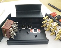 Amplifier selector box