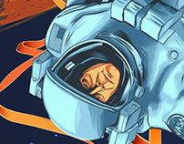 """""""The Martian"""" Fan Art"""