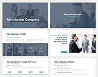 Manchester BusinessKeynote Template