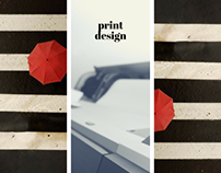 print design (print ads, stationary)