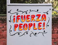 FUERZA PEOPLE - STENCIL