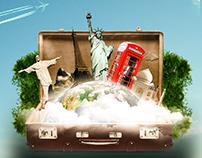 Manipulação: Viagens pelo Mundo - Up Turismo