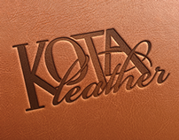 Kota Leather Logo Design
