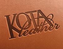 Kota Leather Logo Design