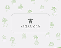 Logo and Branding for Limeford House & Garden Sketch D.
