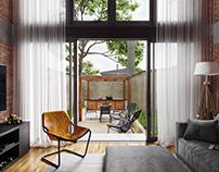 Interior/garden visualization