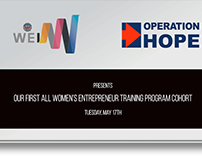 Video Presentation – Operation HOPE & WEI Atlanta