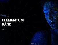 Website and Logo Design - The Sound Sense, 2017.