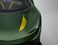McLaren Speedtail Racing Green