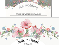 Stationary: Wedding Invites