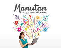 Manutan - By your side, every day - Brand design