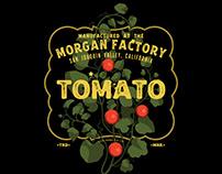 Tomato Classic Label Style - dark