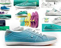 Vulcanized Shoe / Artengo Sandten woman SS11