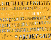 Handwriting typography