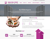 Static Website for Saga Real Estate
