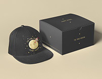 JUST HODL cap / packaging design