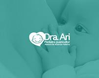 Dra Ari · Branding & stationery