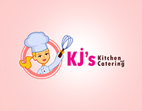 Logo Design for KJ's Kitchen and Catering
