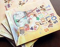 children's book - TIKROS SPALVŲ ISTORIJOS