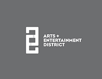 A&E District Website Design