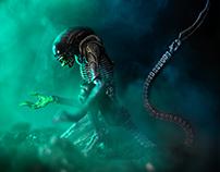 Tribute: Alien - NECA Dog Alien FIgure