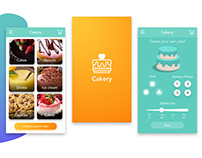 Cakery Mobile App + Landing page